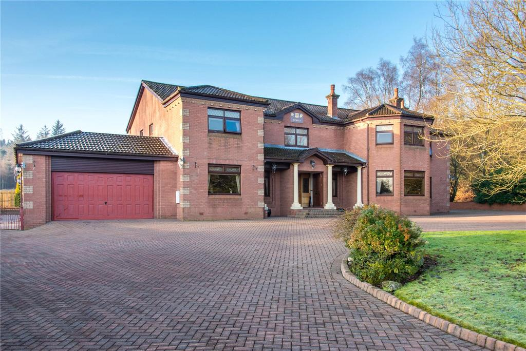 5 Bedrooms Detached House for sale in Aonach Mor, Glen Road, Torwood, Larbert, Stirlingshire