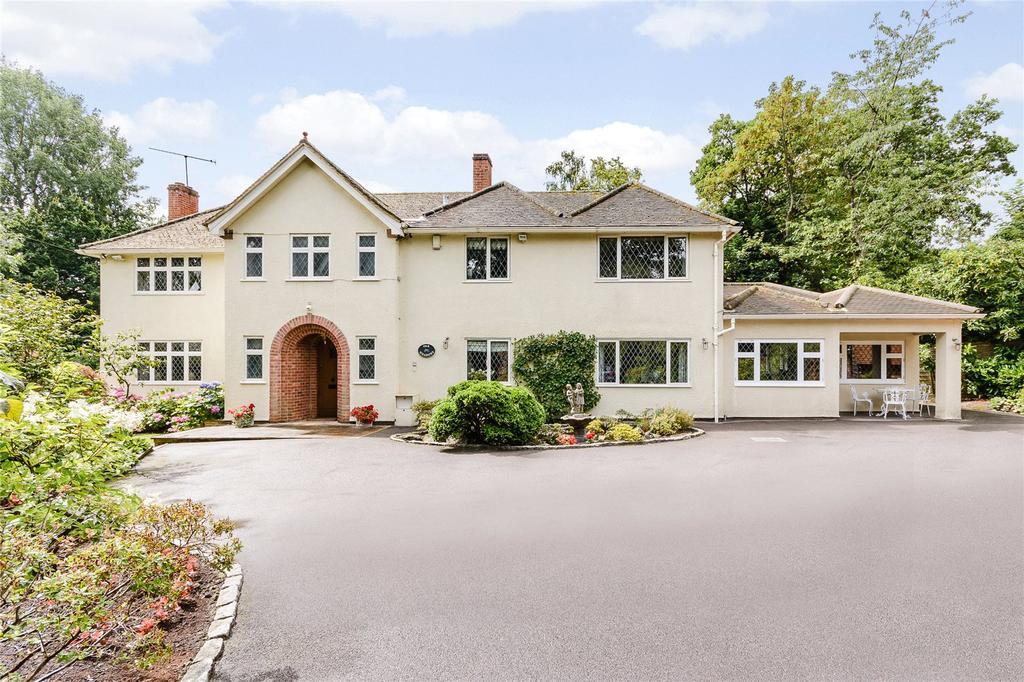 5 Bedrooms Detached House for sale in St. Leonards Hill, Windsor, Berkshire