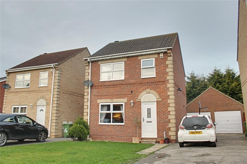 3 Bedrooms Detached House for sale in Rochester Court, Ingleby Barwick
