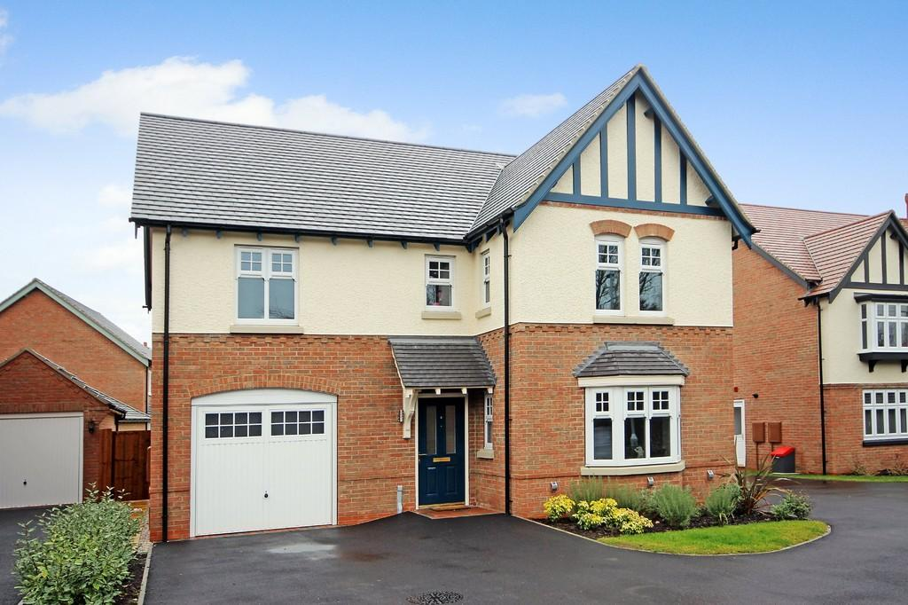 4 Bedrooms Detached House for sale in Howards Close, Ibstock
