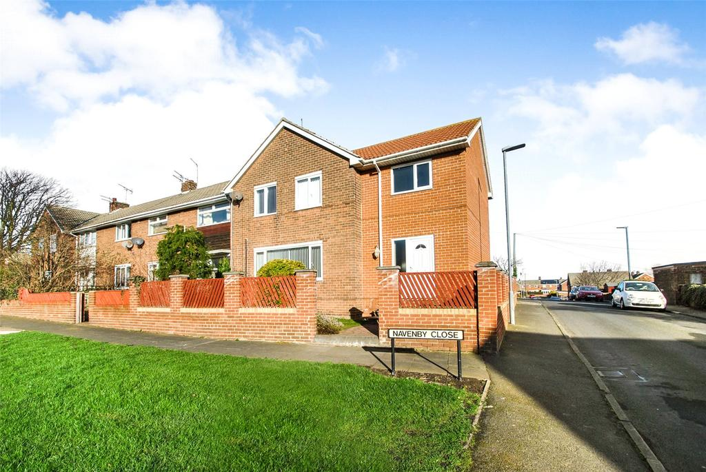 5 Bedrooms End Of Terrace House for sale in Navenby Close, Northlea, Seaham, Co Durham, SR7