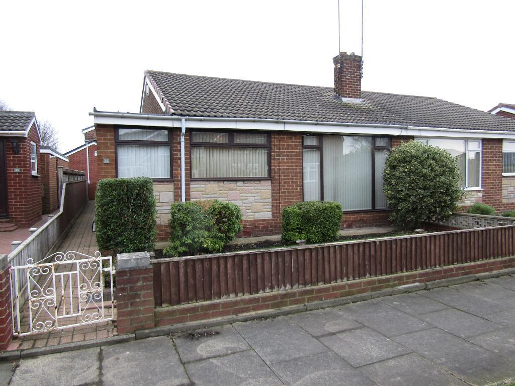 2 Bedrooms Semi Detached Bungalow for sale in Haydock Drive, Wardley, Gateshead, Tyne Wear, NE10 8DG