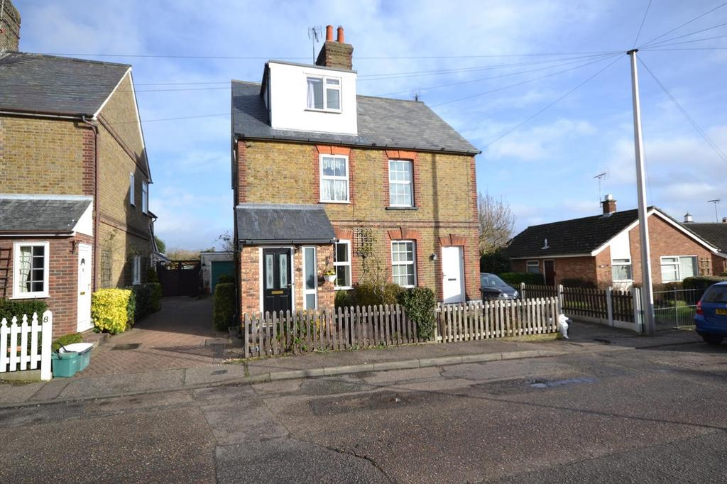 3 Bedrooms Semi Detached House for sale in Lawford Lane, Writtle, Essex, CM1