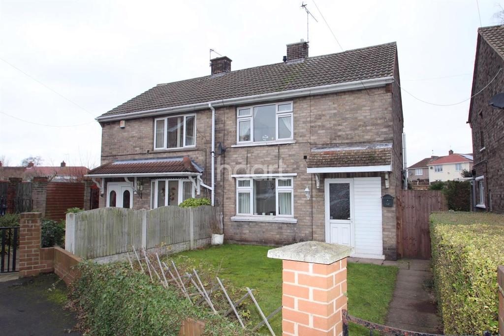 2 Bedrooms Semi Detached House for sale in Hunster Grove, Rossington