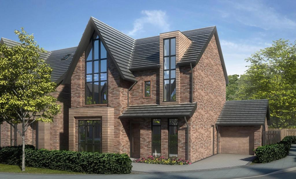 5 Bedrooms Detached House for sale in Park House Drive, The Place, Sale