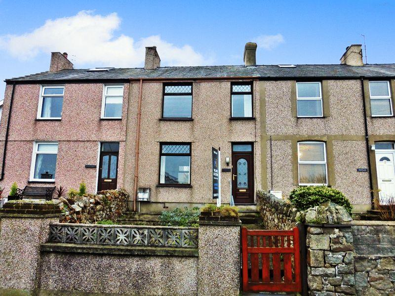 3 Bedrooms Terraced House for sale in Y Felinheli