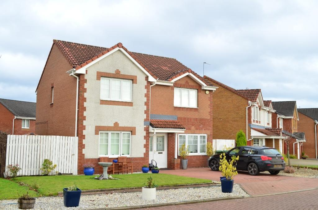4 Bedrooms Detached House for sale in Bernisdale Drive, Glasgow, Glasgow, G15 8BB