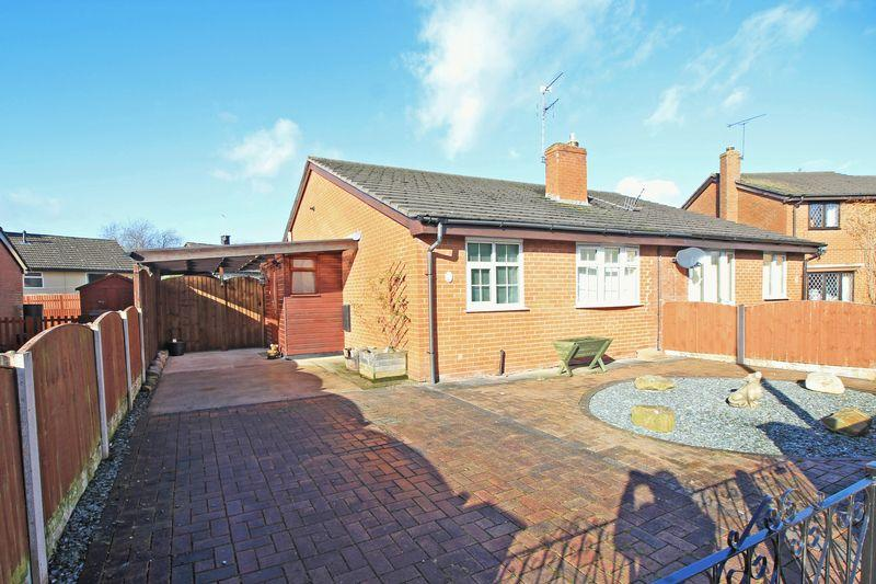 2 Bedrooms Semi Detached Bungalow for sale in Hawthorn Close, St Martins