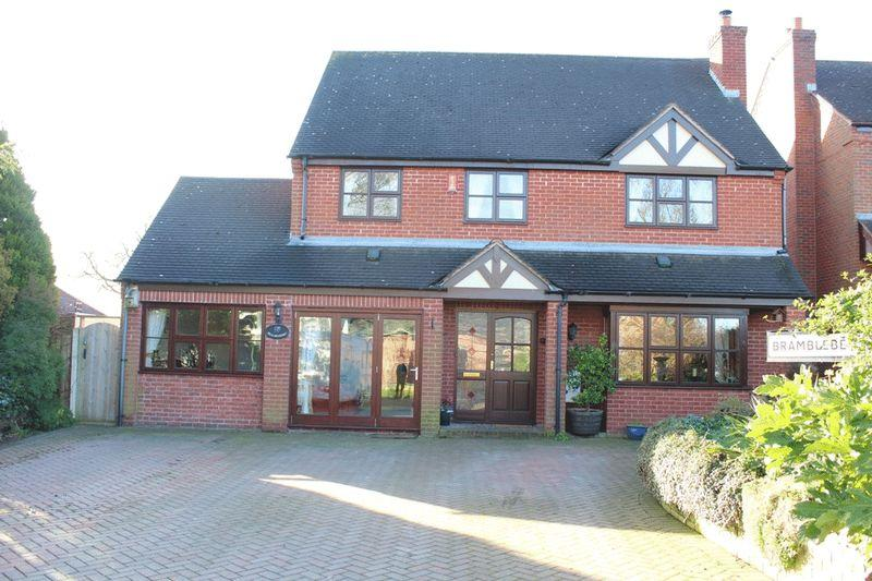 5 Bedrooms Detached House for sale in Halfway House, Shrewsbury, SY5 9DD