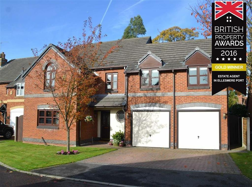 5 Bedrooms Detached House for sale in Roxburgh Road, Little Sutton, CH66