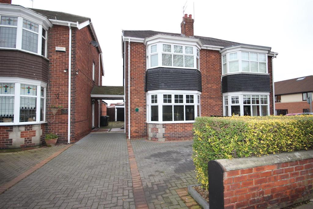 3 Bedrooms Semi Detached House for sale in Elwick Road, Hartlepool