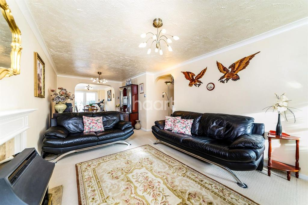 4 Bedrooms Detached House for sale in Manchester Close, Weston Heights, Great Ashby