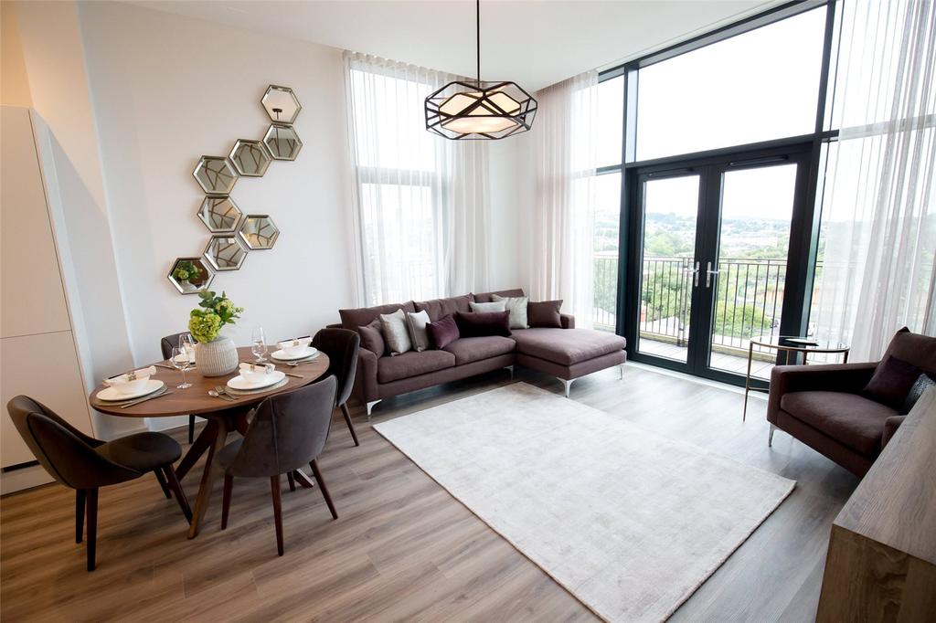 2 Bedrooms Penthouse Flat for sale in Penthouse 6245, Alexandra House, Bath Riverside, Bath, BA2