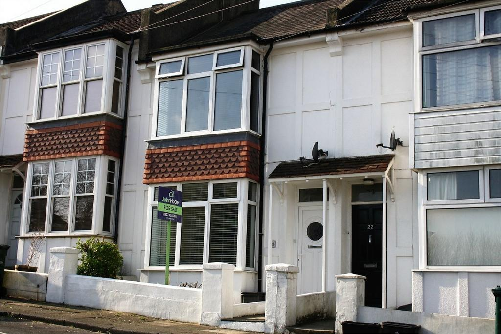 2 Bedrooms Terraced House for sale in Scarborough Road, BRIGHTON, East Sussex
