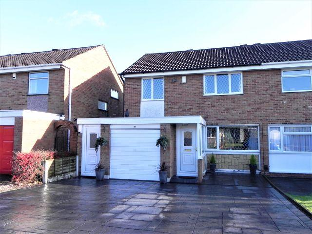 3 Bedrooms Semi Detached House for sale in Walsh Drive,Sutton Coldfield,.