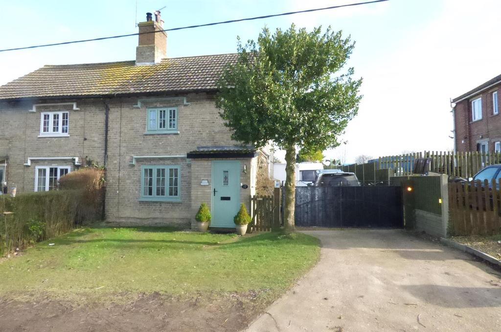 3 Bedrooms Semi Detached House for sale in Feltwell Road, Methwold Hythe
