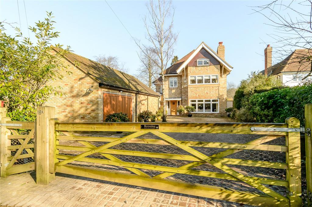 5 Bedrooms Detached House for sale in Townsend Drive, St. Albans, Hertfordshire