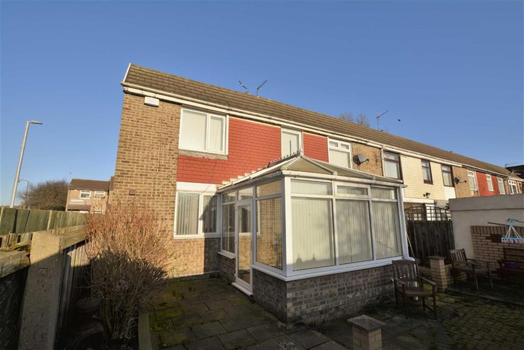 3 Bedrooms Terraced House for sale in Bisley Grove, Bransholme, Hull, HU7