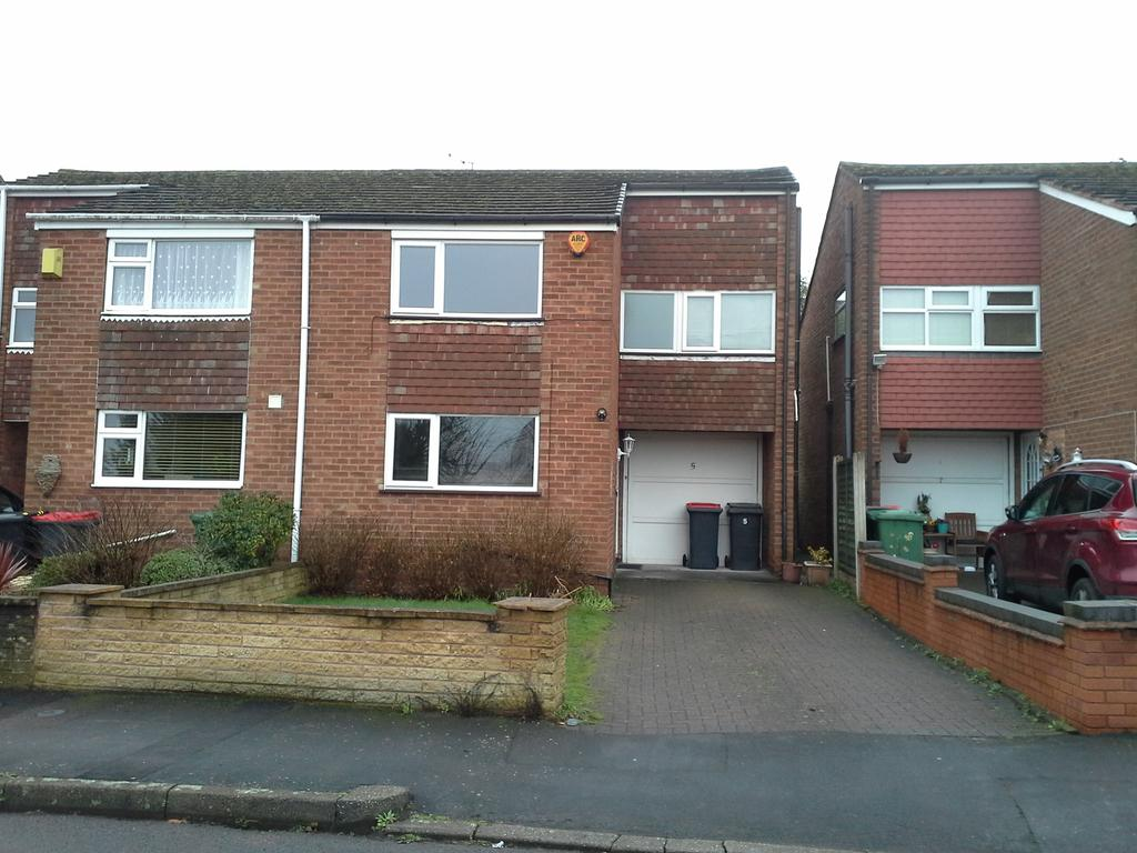 3 Bedrooms Semi Detached House for sale in Burman Drive, Coleshill B46