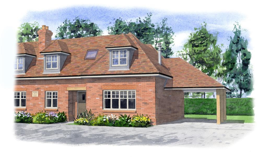 3 Bedrooms Semi Detached House for sale in Thorpe, Surrey