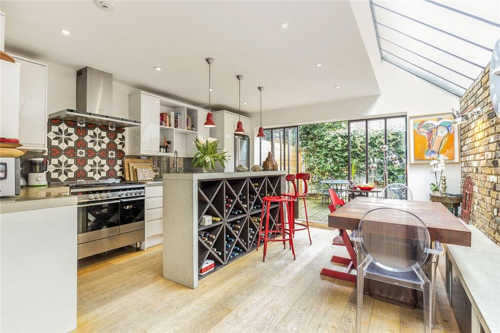5 Bedrooms Terraced House for sale in Gastein Road, London, W6
