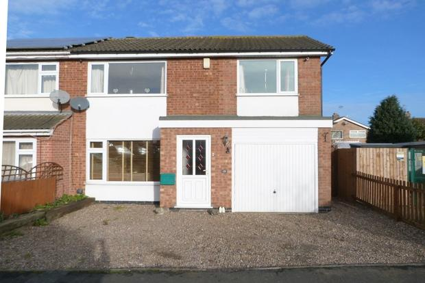 4 Bedrooms Semi Detached House for sale in Greensward, East Goscote, LE7