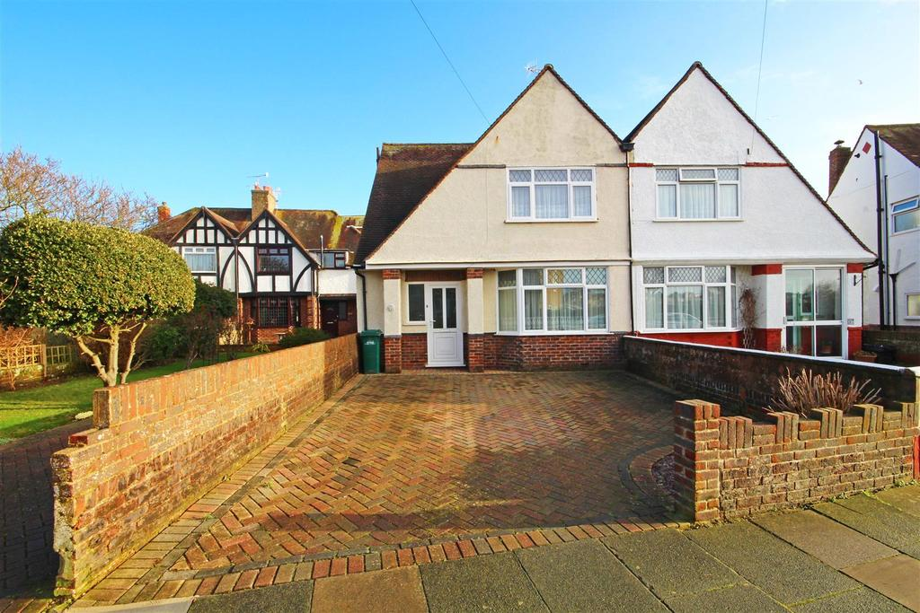 3 Bedrooms Semi Detached House for sale in Windlesham Close, Portslade, Brighton