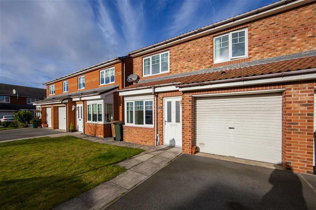 3 Bedrooms Semi Detached House for sale in Alwin Close, Hadrian Mews, Wallsend, NE28