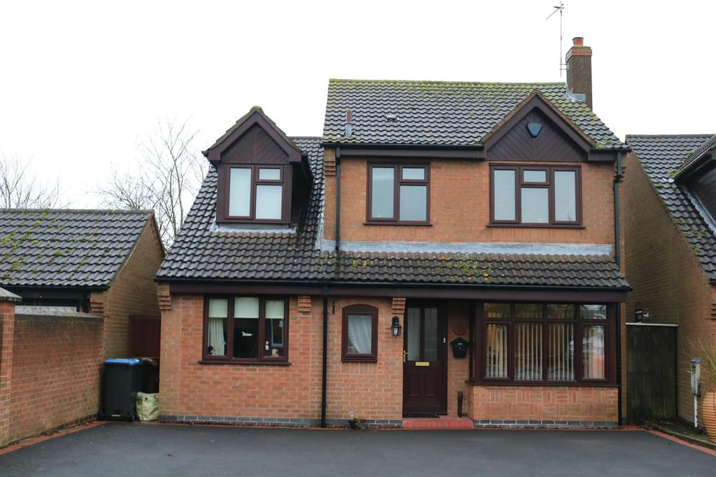 5 Bedrooms Detached House for sale in Hallfield, Twycross, Atherstone