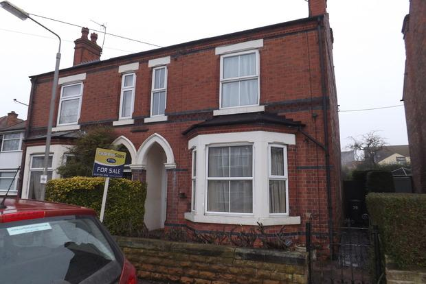 2 Bedrooms Semi Detached House for sale in Haywood Road, Mapperley, Nottingham, NG3