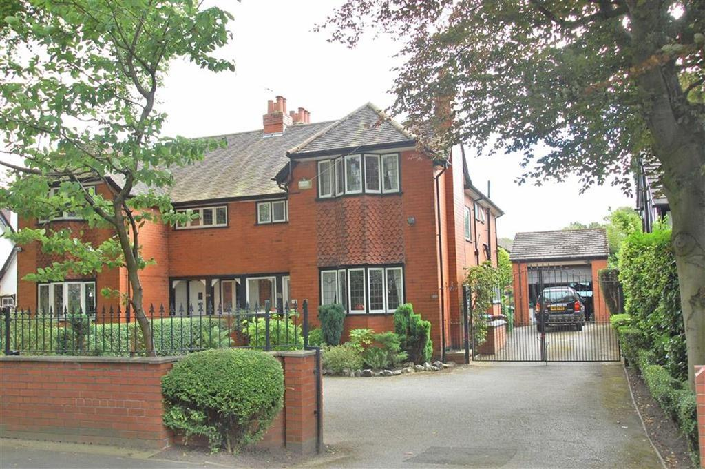 4 Bedrooms Semi Detached House for sale in Bramhall Lane South, Bramhall, Cheshire