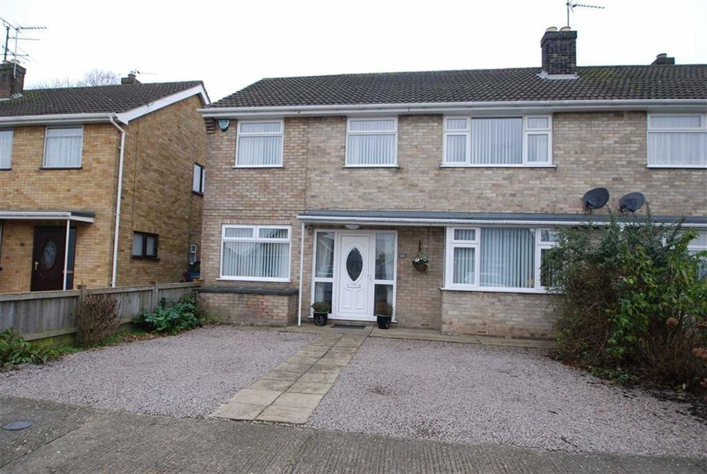 4 Bedrooms Semi Detached House for sale in Monteith Crescent, Boston