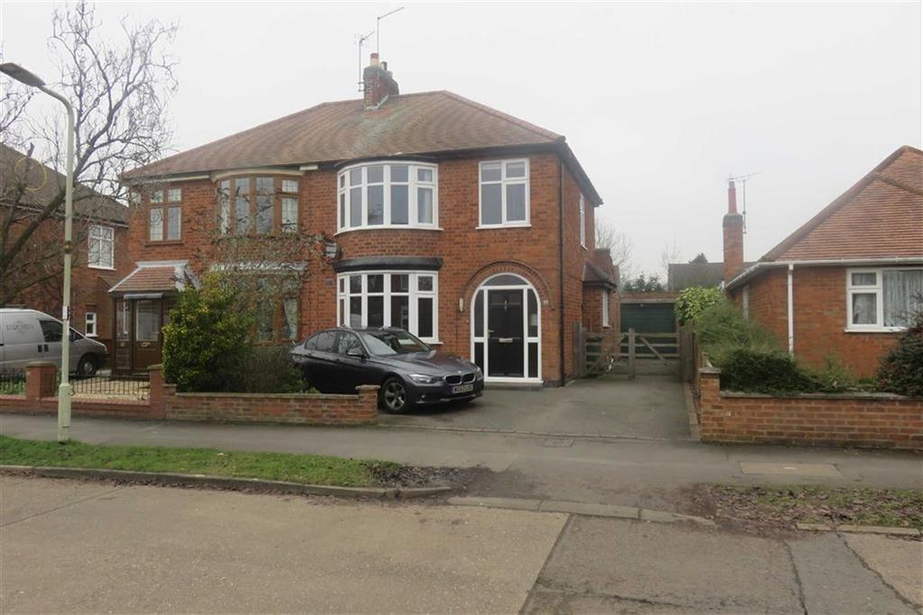 3 Bedrooms Semi Detached House for sale in Acres Road, Leicester Forest East