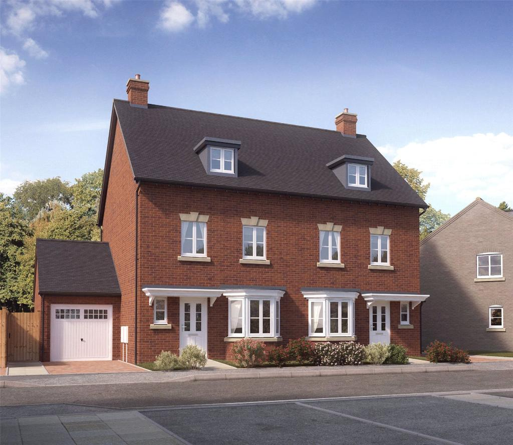 3 Bedrooms Semi Detached House for sale in Plot 10 Firs Park, Eversley Road, Norwich, NR6