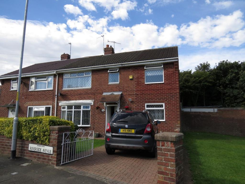 4 Bedrooms Semi Detached House for sale in Riverside Avenue, Guidepost, Choppington
