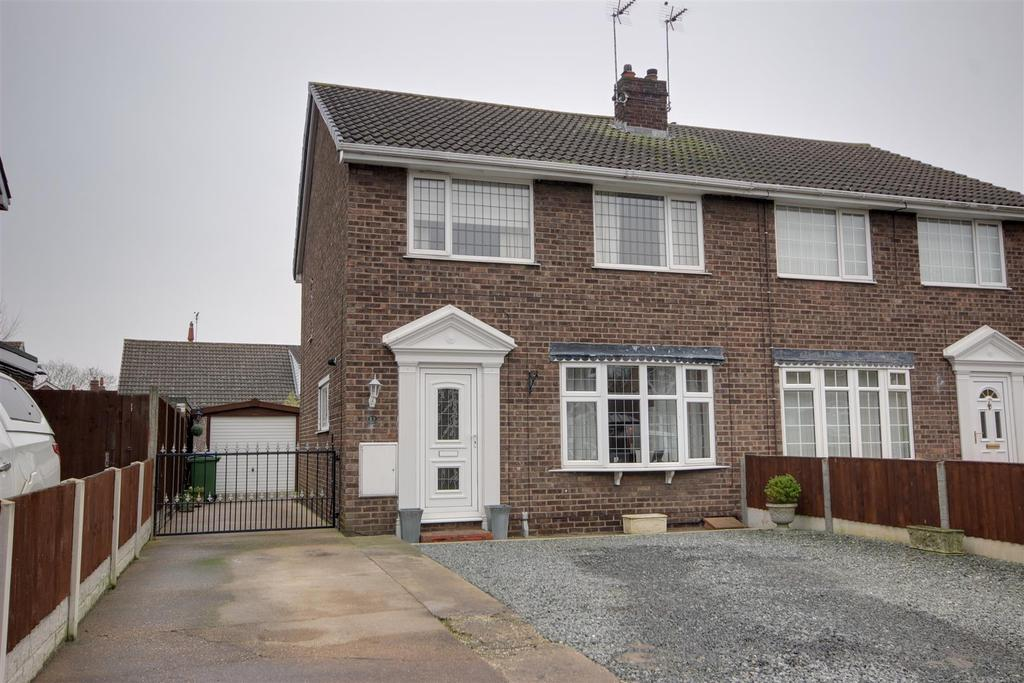3 Bedrooms Semi Detached House for sale in Applegarth, Gilberdyke