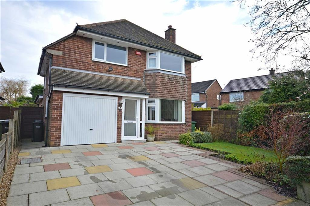 3 Bedrooms Detached House for sale in QUEENS ROAD, Cheadle Hulme, Stockport, Cheshire, SK8