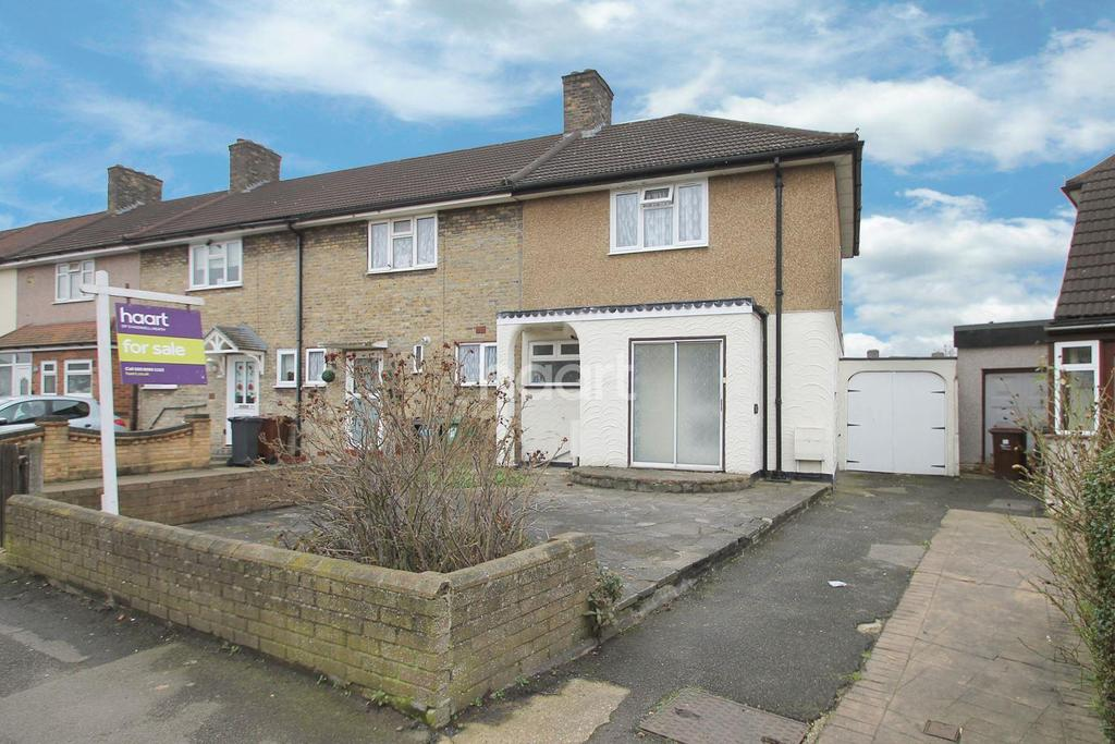 3 Bedrooms End Of Terrace House for sale in Valence Circus, Dagenham