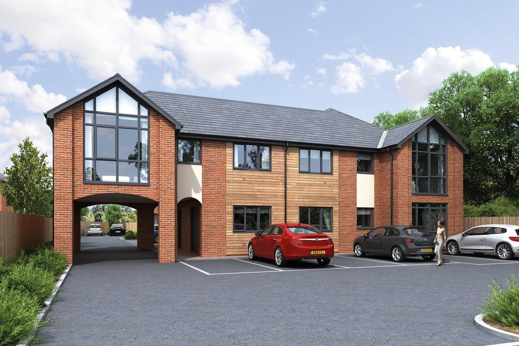 2 Bedrooms Apartment Flat for sale in Plot 6, Five Oaks, Mobberley Road, Knutsford