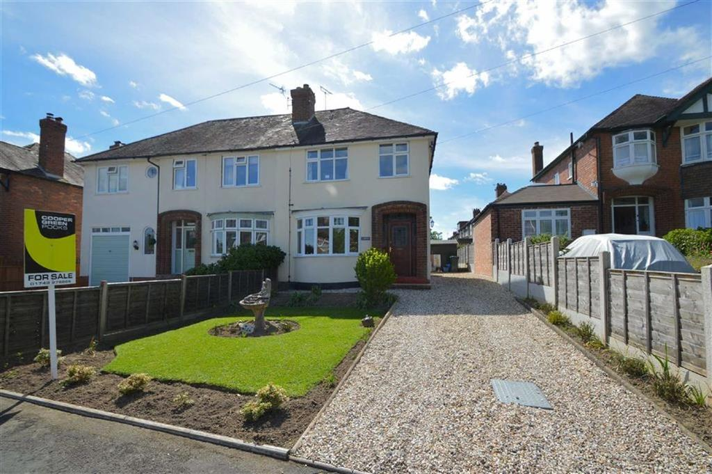 3 Bedrooms Semi Detached House for sale in Mytton Grove, Copthorne, Shrewsbury