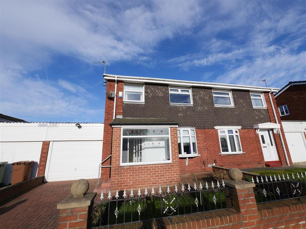 3 Bedrooms Semi Detached House for sale in Drybeck Square, Mill Hill, Sunderland