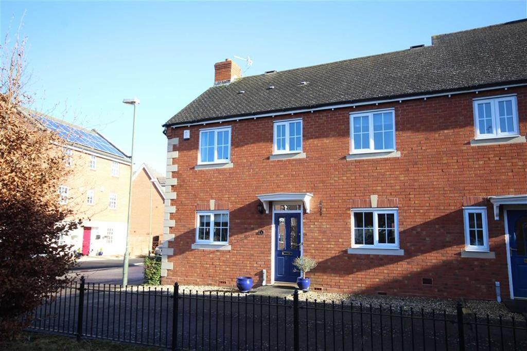 3 Bedrooms Semi Detached House for sale in Buckingham Close, Tewkesbury, Gloucestershire