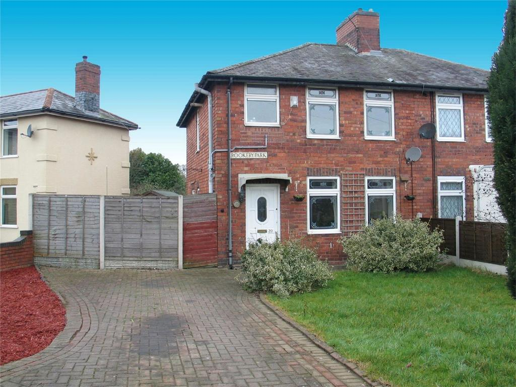 3 Bedrooms Semi Detached House for sale in Rookery Park, BRIERLEY HILL, West Midlands