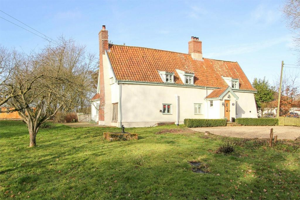 5 Bedrooms Cottage House for sale in Bates Lane, Fersfield, Diss, Norfolk