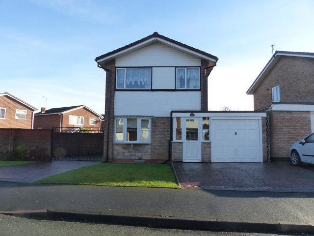 3 Bedrooms Detached House for sale in Lingfield Drive,Great Wyrley,Staffordshire