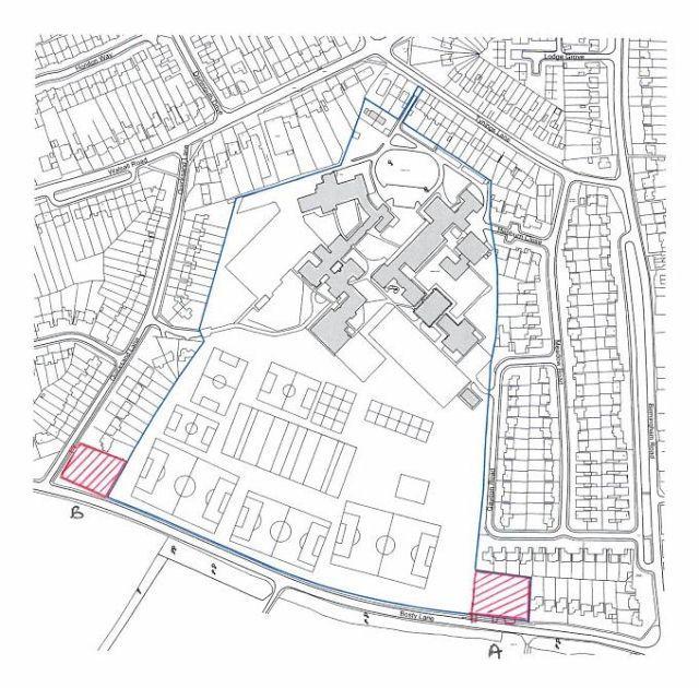 Plot Commercial for sale in Bosty Lane,Aldridge,West Midlands