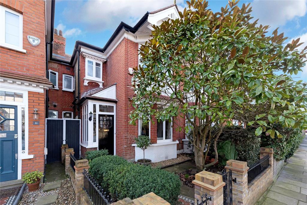 3 Bedrooms Terraced House for sale in Grena Gardens, Richmond, Surrey
