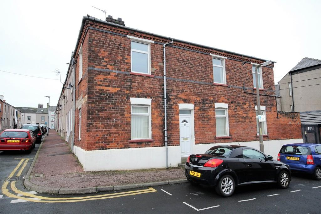 2 Bedrooms End Of Terrace House for sale in Allison Street, Barrow-In-Furness