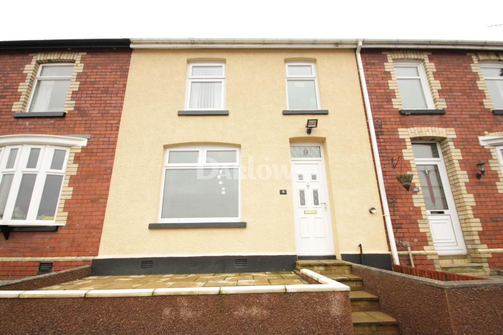 3 Bedrooms Terraced House for sale in Saxons Houses, Manor Road, Abersychan