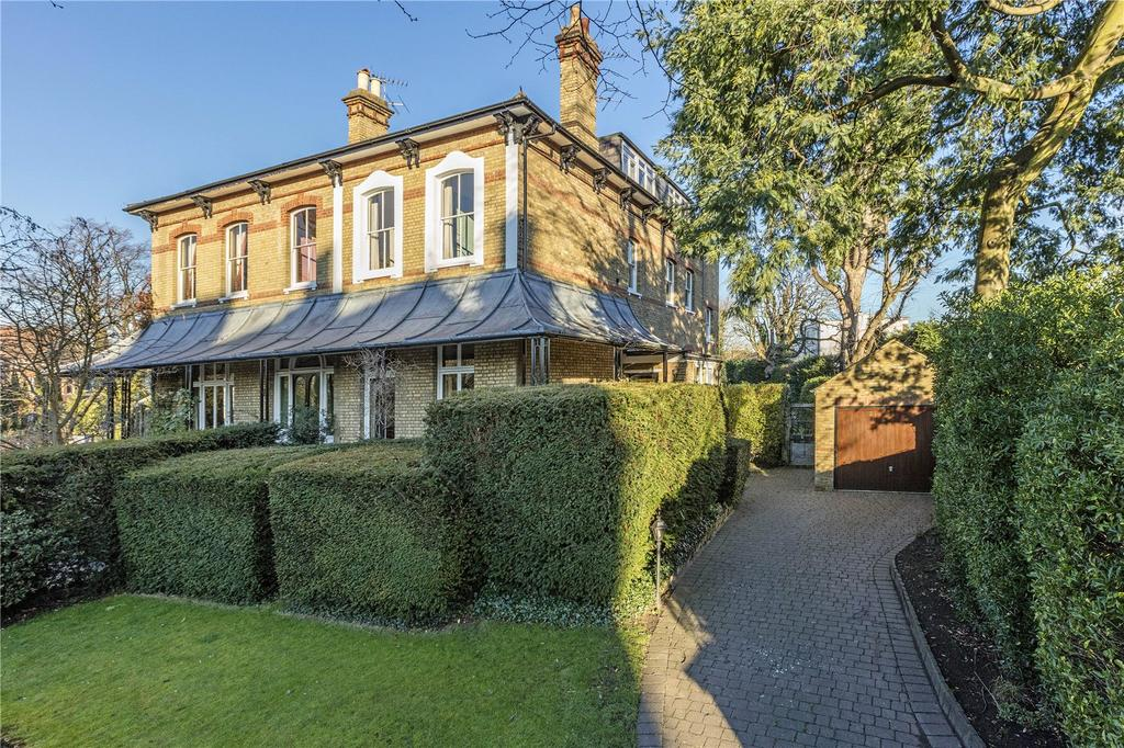 5 Bedrooms Semi Detached House for sale in Riverdale Road, Twickenham, TW1